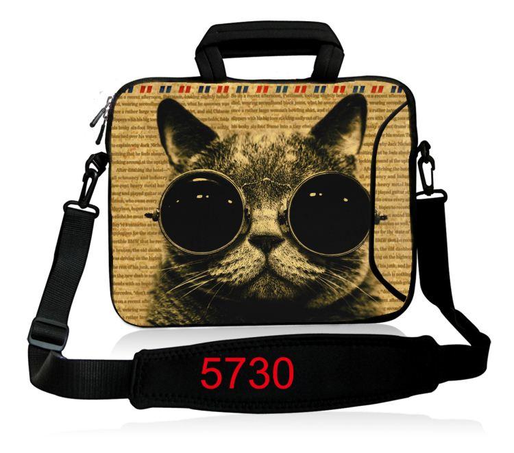 10 12 13.3 14.4 15.6 17 դյույմ Neoprene Laptop Shoulder Bag - Նոթբուքի պարագաներ - Լուսանկար 3