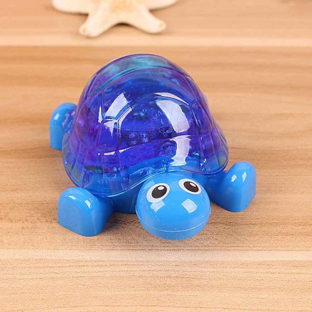 Karikatür kaplumbağa şekli yaratıcı sihirli hamuru balçık kil DIY kalıp Ultra hafif stres rahatlatıcı taşınabilir çocuklar yetişkin şaka Tric