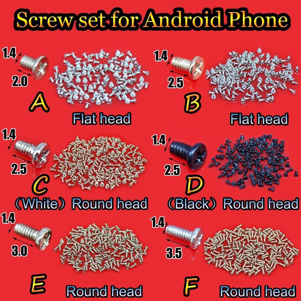 YuXi 1 Bag M1.4 Cell Phone Screws Set For Android Phone Tablet Repair 1.4*2.0/2.5/3.0/3.5