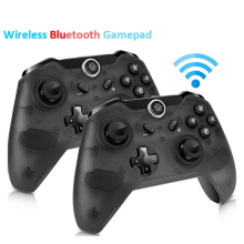 Bluetooth Wireless Pro Controller Gamepad Joypad Remote for Nintend Switch Console Gamepad Joystick r25 все цены