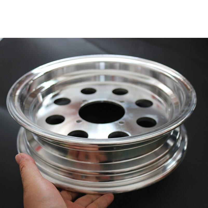 Kostenloser Versand Roller Roller 10 Zoll Rad Hub 3,50-10 Aluminium Legierung Rad Hub Elektrische Reifen Runde Vorderrad Balance Auto