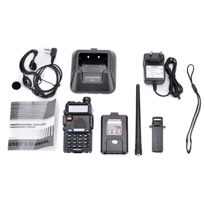 Image 5 - 4Pcs Baofeng UV 5Rเครื่องส่งรับวิทยุProfessional 5W UV 5RวิทยุComunicador UV5R Ham HFวิทยุสถานี