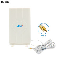 700 2600MHz 3G 4G LTE External Panel Antenna TS9 Connector and 2 meter cable for 3G 4G Huawei router modem