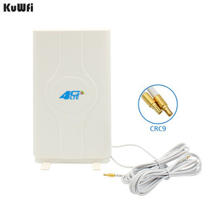 Image 1 - 700 2600MHz 3G 4G LTE لوحة خارجية هوائي TS9 موصل و 2 متر كابل ل 3G 4G هواوي راوتر مودم