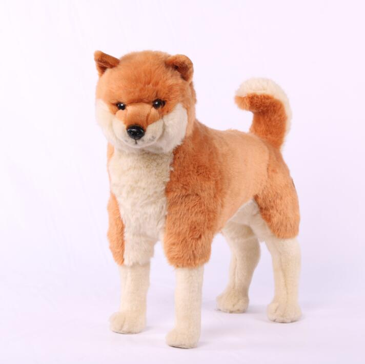 Simulation Plush Animals Toys Chaiya  Akita Dog Stuffed Toy  Doll  High-End Boutique  Decoration  Birthday  Gift akita