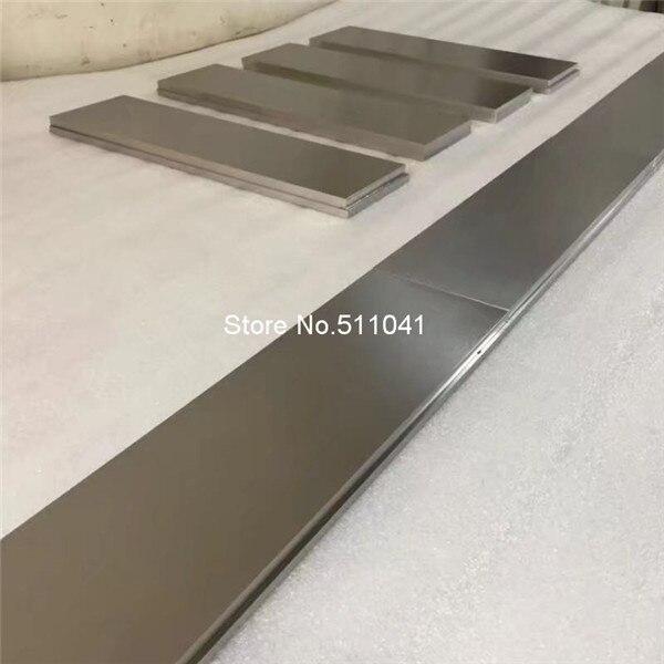 """Titanium Ti Grade 2 Gr.2 GR2 ASTM B265 Plate Sheet 1mm x 150mm x 300mm 6/"""" X 12/"""""""