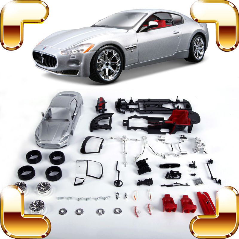 ФОТО New Idea Gift Granturismo 1/24 Model Assemble Vehicle Alloy DIY Game Educational Toys IQ Training Handmade Sports Car Die-cast