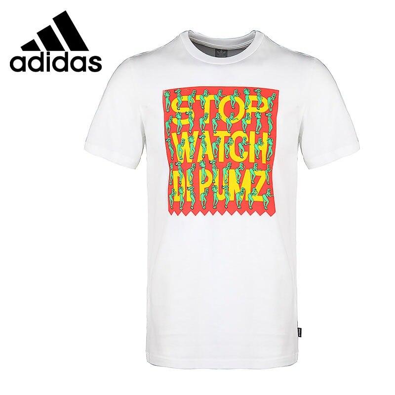 Ehrlichkeit Original Neue Ankunft 2018 Adidas Originals Dipumz T Männer T-shirts Kurzarm Sportswear Taille Und Sehnen StäRken Sport & Unterhaltung