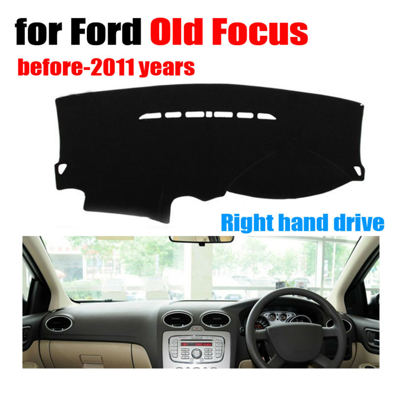 Car dashboard covers mat for Ford Old Focus before-2011 years Right hand drive dashmat pad dash cover auto dashboard accessories