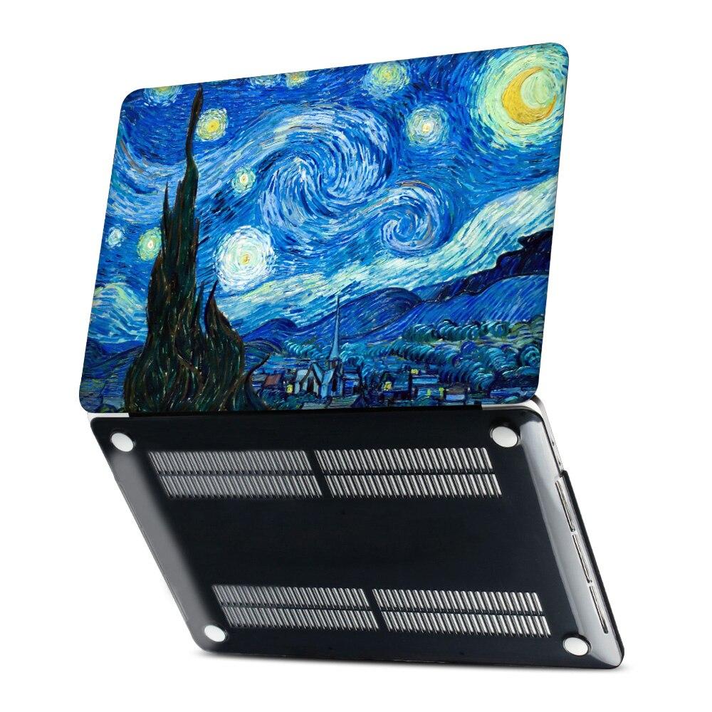 Starry Night Laptop Case for Macbook Pro 13 15 Case A1706 A1708 A1707 - Նոթբուքի պարագաներ - Լուսանկար 3
