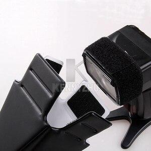 Image 3 - 10 יח\חבילה אוניברסלי מתקפל פלאש אור Speedlite רפלקטור הסנוט רך מפזר צינור עבור DSLR מצלמה Nikon Canon Sony Yongnuo