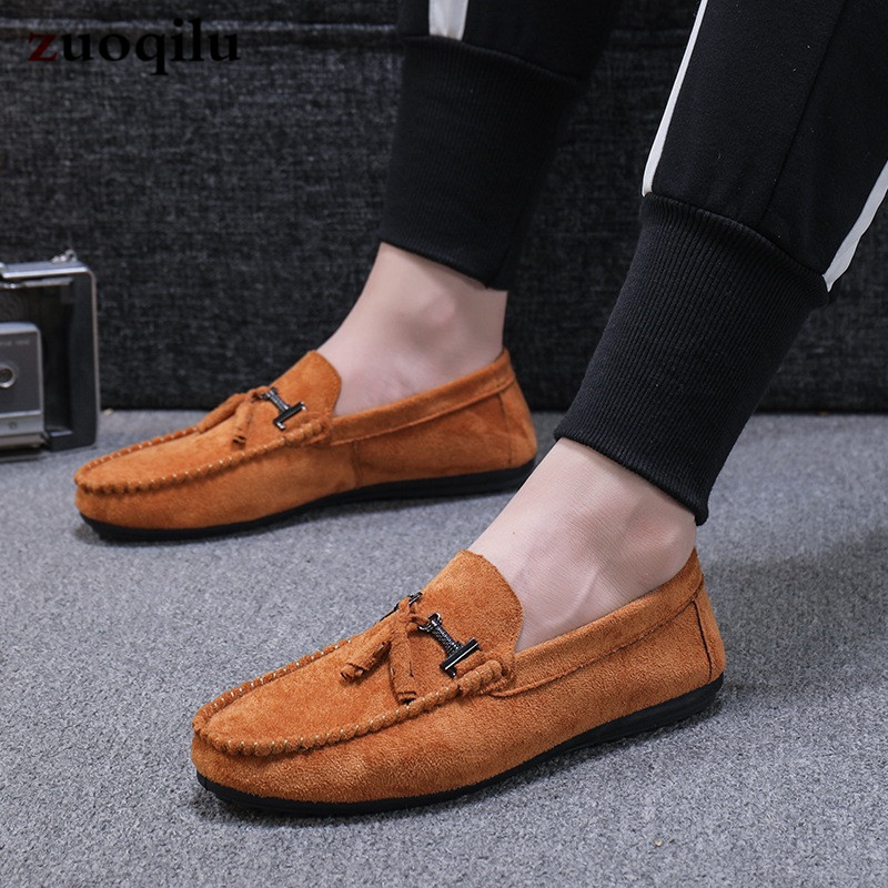 mocassin homme men casual shoes flats breathable casual shoes men loafers slip on shoes men black mens shoes casual hot sales new fashion dandelion spikes mens loafers high quality suede black slip on sliver rivet flats shoes mens casual shoes