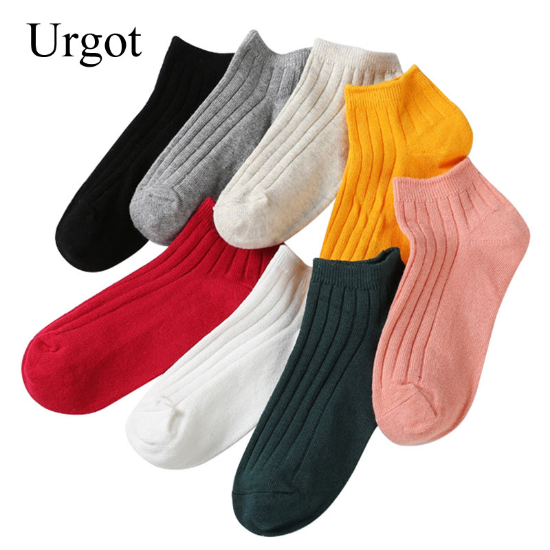Underwear & Sleepwears 2019 New Style 3pairs Men Short Socks Solid Color Plaid Dotted Line Pattrn Casual Business Cotton Sock Breathable Absorb Sweat Mature Male Meia Durable Service