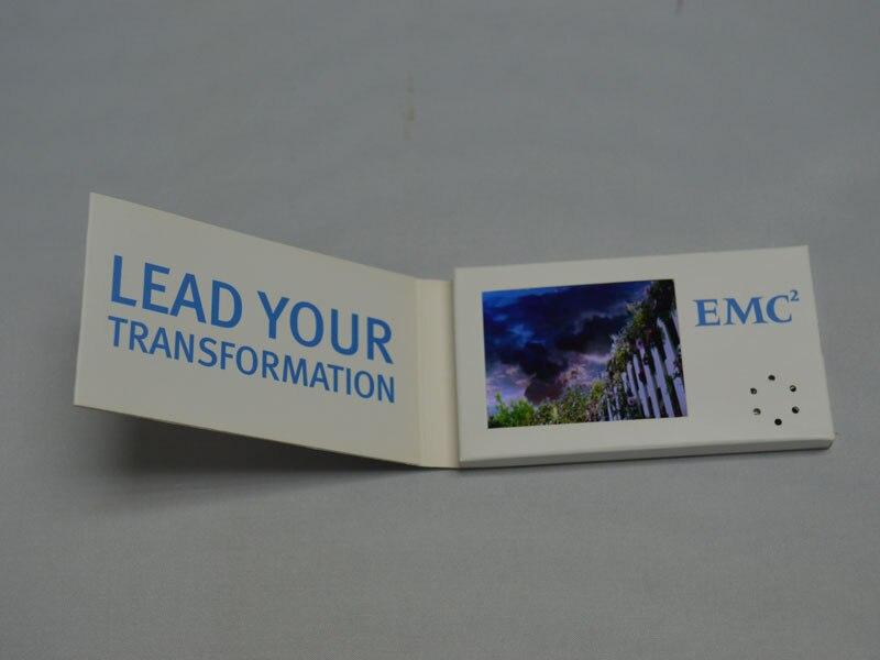 28 Pollice Su Misura Stampa Digitale Video Lcd Biglietto Di Auguri