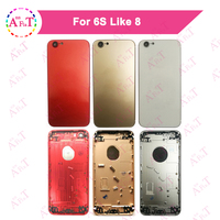 For IPhone 6S Like 8 6S Plus Style 8Plus Housing Battery Cover Door Rear Cover Chassis