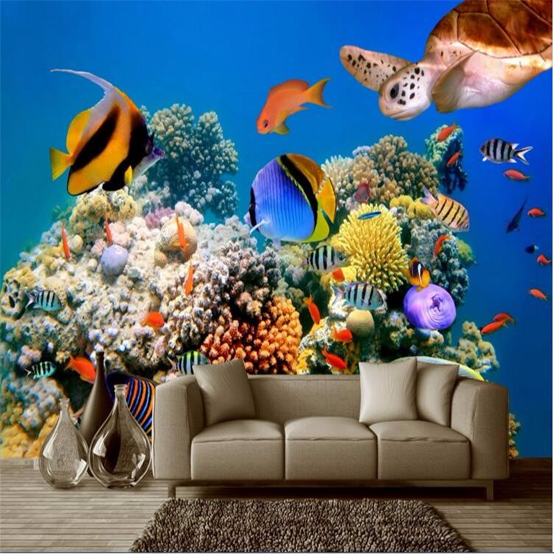 Compare prices on tropical bedding online shopping buy for Custom mural cost