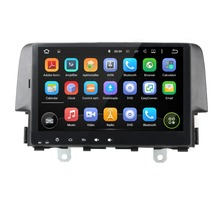 10.1″ Android 5.1 GPS Navigation Car Multimedia Player For HONDA CIVIC 2016 Touch Screen Car Stereo Video Audio Free MAP Canbus