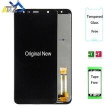 """AnZ Cho 6.0 """"Samsung Galaxy J6 Plus j610FN Màn Hình LCD SM J610G/DS 2018 Màn hình hiển thị LCD OEM pantalla ekran cảm ứng Bộ Số Hóa"""