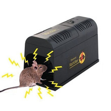 Roedor uso en el hogar eliminar ratones Electrocute trampa de ratón de alto voltaje Zapper electrónico mata ratas inteligente