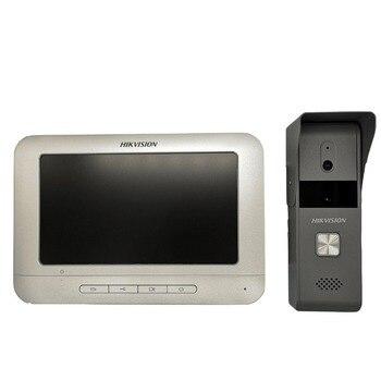 Hik DS-KIS203 4-wire doorbell, Video DoorBell, Door Phone, Analog Video Intercom KIT,Access control Doorbell, Video Intercom