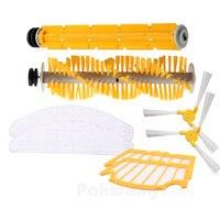 A325 Seitenbürste * 2 Gummi Pinsel * 1 Haar Pinsel * 1 Filter * 2 und Mopp * 2, Original Roboter-staubsauger Teile