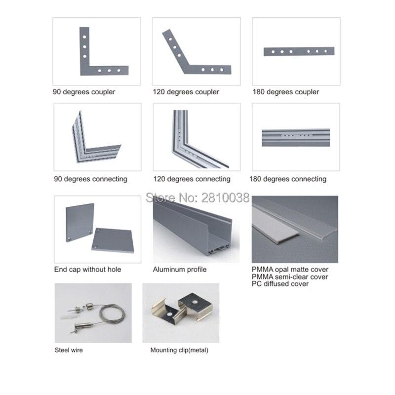 Conjuntos 30x2 m Lot U forma caixas