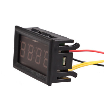 Superior Table Clocks Digital Electronic Clock 4 Digit 0.4inch LED For  Car Motorcycle Motor Clocks Brand Electronic Watch  BS