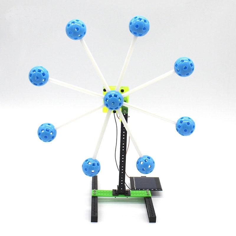 Kinder Diy Spielzeug Puzzle Montage Kit Solar Energie Wissenschaft Erzeugen Strom Experiment Kreative Physik Lehre Ressourcen Physik Teaching Resources
