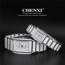 CHENXI Watch Famous Clock Ceramic Top-Brand Women Luxury Male Quartz