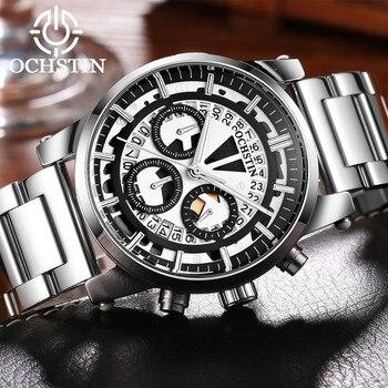 OCHSTIN Men's Chronograph Watches Top Brand Luxury Sport Watch Military Quartz Wrist Watch Men Clock Fashion Male relojes