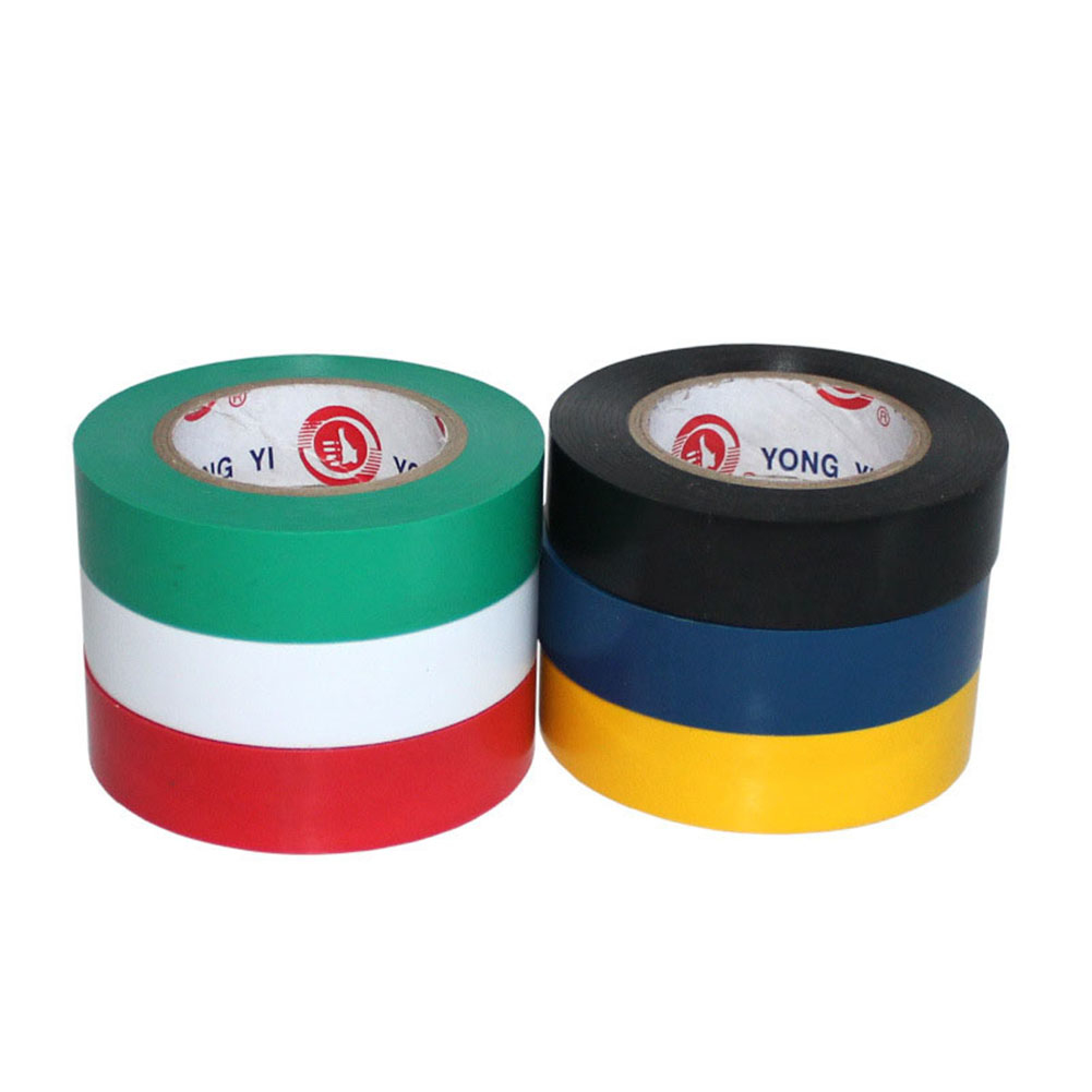 2019 New Flame Retardant Electrical Insulation Tape High Voltage PVC Electrical Tape Waterproof Self-adhesive Tape 9m X 18mm