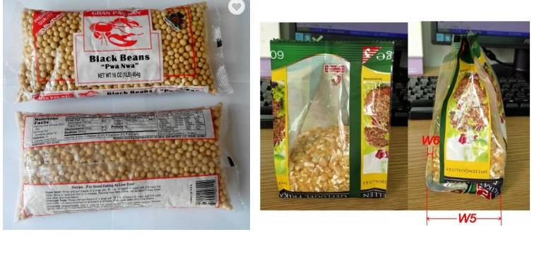 Vertical Food Granule Packaging Machine Chips Packing Machine in Relays from Home Improvement