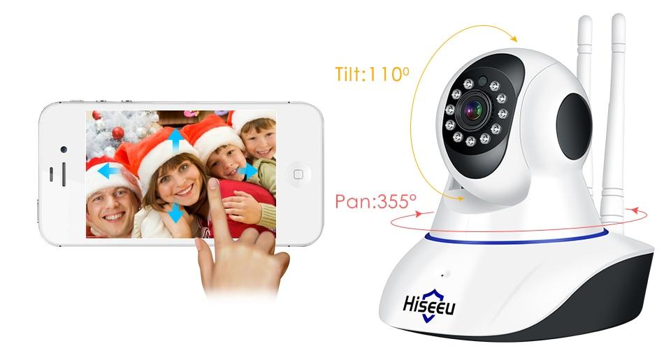 Hiseeu Ultra HD 3MP 1080P Security Camera 10