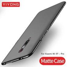 9 T Pro Mi YIYON 9 T Caso PC Fino Fosco Tampa Traseira Para Xiaomi Mi 9 T Pro Caso cobertura Xiomi Mi9T Xiami Mi 9 T Mi 9 T Pro Casos de Telefone