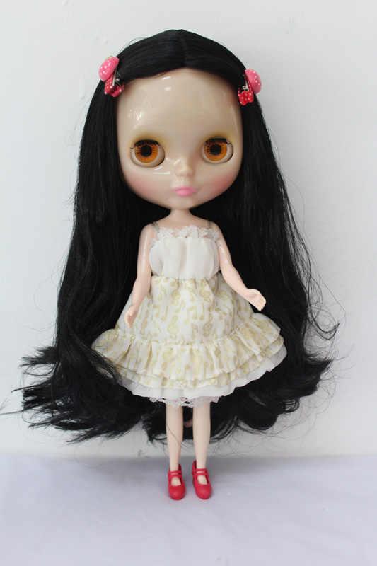 Бесплатная доставка Топ Скидка прозрачное лицо DIY Обнаженная Blyth кукла Пункт №. 179 T кукла ограниченный подарок Специальная цена дешевое предложение игрушка