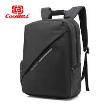 Cool bell 2017 New Design 15 inch Laptop Backpack External USB Charge Computer Anti-theft Shockproof Travle Bags for Men Women
