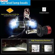 Новый 55 Вт V6 H4 H7 H8 H11 H15 5202 9005 9006 9012 D2S PSX24W PSX26W водить автомобиль Фары для авто преобразования комплект w/auto level лампа Бусины