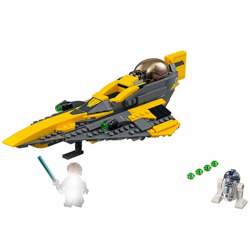 Compatible With The 75214 Anakin 39 s Jedi Starfighter Buidling Blocks Bricks Educational Toys in Blocks from Toys amp Hobbies