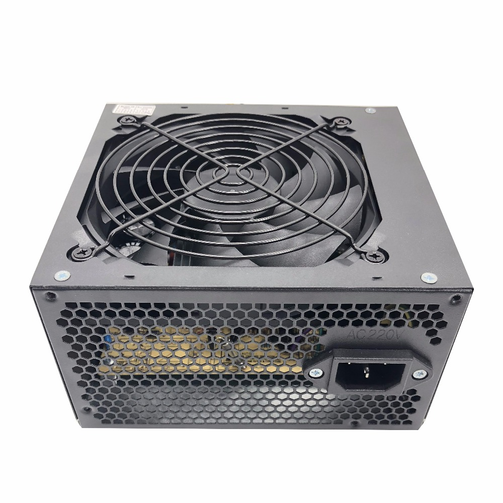Image 5 - 500W Max Silent Power Supply for 180V 240V Red fan blade PC Desktop Computer Power Supply PSU PFC-in PC Power Supplies from Computer & Office