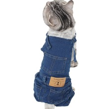Dogs Overalls Jumpsuit Costume Outfit Coat Pets Small Yorkshire Pipifren for Cats Spring