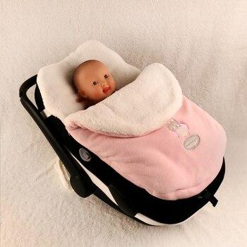 Чехол для ног в детскую коляску, детская коляска, бесплатная доставка, конверт для новорожденного, детские толстые спальные мешки >> Mobuchi piggy Store