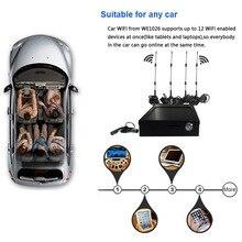 Enrutador 4g wifi para coche, punto de acceso con ranura para tarjeta sim y antenas externas, 3g gsm enrutador inalámbrico para coche/Autobús 802.11n/g/b