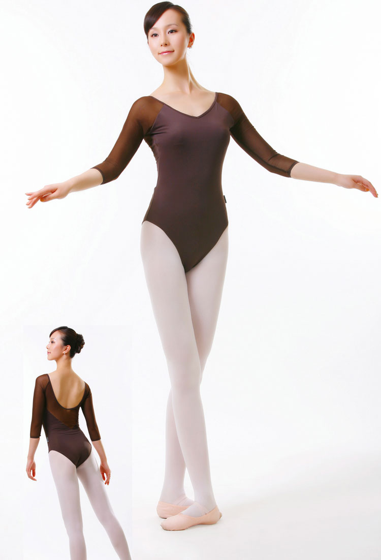 8e73f79eb high quality Adult ballet clothes long sleeve Siamese clothes ...