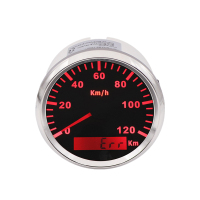 High Quality Car Speedometer 120 KMH Speed Gauge Motorcycle Marine Meter for ford focus 2 bmw e46 bmw e90
