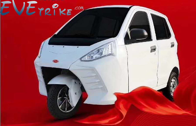 Electric Trike Passenger Tricycle Tourist Etrike Complete With 3KW 60V AC Induction Motor Best Durable Quality Loading 300kgs