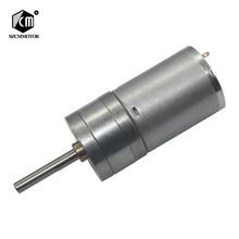25 мм выходной вал 25 мм* 4 мм 6 В 12 В 24 В низких оборотах двигателя постоянного тока из металла geabox редуктор мотор постоянного тока мотор редуктор