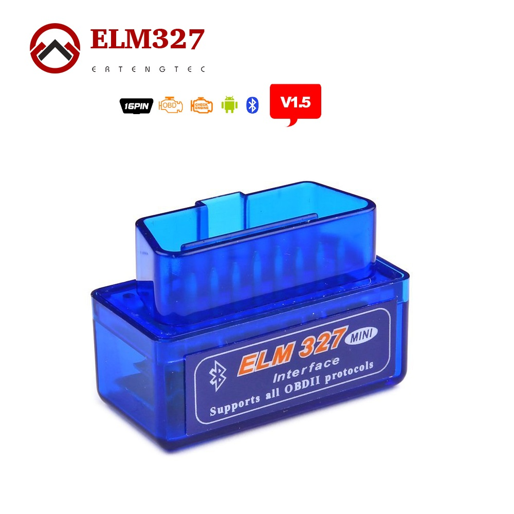Super MINI ELM327 Bluetooth V1.5 ELM 327 Version 1.5 For Android /PC Car Code Scanner With OBD2 / OBDII Can
