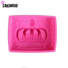 High-quality environmental non-toxic crown silicone cake mold chocolate candy cake cooking tools cake decoration tools