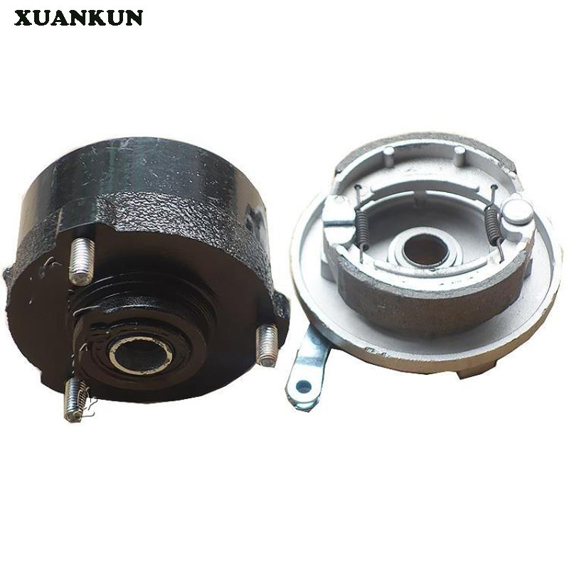 где купить XUANKUN Beach Car Front Wheel Three - Hole Fixed Wheel Core Flange Block Drum Brake Accessories   Rotating Body по лучшей цене