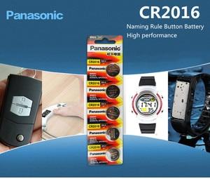 Image 4 - Panasonic Высокое качество литиевая батарея 10 шт./лот 3V li ion cr2016 кнопка батареи часы монета батареи cr 2016 DL2016 ECR2016 GPCR